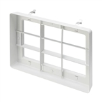 Juno Recessed Lighting TA-WWLOUVER-WH (CBLWH RECT2) Cross Blade Louver White Finish
