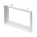 Juno Recessed Lighting TA-WWSNOOT-WH (SNOOTWH RECT2) Snoot White Finish