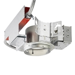 "Juno Recessed Lighting TC2020LED4-35K-LBR 5"" LED New Construction, 2000 Lumens, 3500K Color Temp, Lutron Hi-Lume 3-Wire with Emergency Battery Back Up"