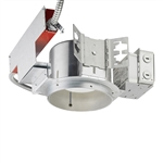 "Juno Recessed Lighting TC2022LED4-27K-LBR 6"" LED New Construction, 2000 Lumens, 2700K Color Temp, Lutron Hi-Lume 3-Wire with Emergency Battery Back Up"