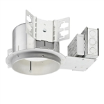 "Juno Recessed Lighting TC2022LED4-35K-LCP 6"" LED New Construction, 2000 Lumens, 3500K Color Temp, Lutron Hi-Lume 3-Wire, Chicago Plenum"