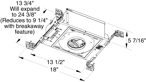 [DIAGRAM_3NM]  Juno Aculux Recessed Lighting TC43N (TC43N MLV 120) 3-1/4 inch Low Voltage  New Construction Standard Housing with 120V Magnetic Transformer | Juno Transformer Wiring Diagram |  | Electric Bargain Store