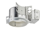 "Juno Recessed Lighting TC922LEDG4-27K-L 6"" TC-Rated New Construction LED Downlights, 900 Lumens, 2700K Color Temperature, with Lutron Hi-Lume 3-wire Dimming Ecosystem Compatible"