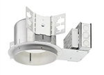 "Juno Recessed Lighting TC922LEDG4-27K-LCP 6"" TC-Rated New Construction LED Downlights, 900 Lumens, 2700K Color Temperature, with Lutron Hi-Lume 3-wire Dimming Ecosystem Compatible, and Chicago Plenum"