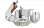 "Juno Recessed Lighting TC922LEDG4-41K-LBR 6"" TC-Rated New Construction LED Downlights, 900 Lumens, 4100K Color Temperature, with Lutron Hi-Lume 3-wire Dimming Ecosystem Compatible, and Emergency Battery Back-up with Remote Switch"