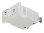 Juno Track Lighting TCL2WH (TCLCB 2A WHT) Current Limiting Circuit Breaker - 2A (240W), White Color