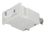 Juno Track Lighting TCLCB 0.5A WHT Current Limiting Circuit Breaker - 0.5A (60W), White Color