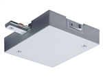 Juno Track Lighting TCLF11SL (TCLF11 SL) Trac-Master Current Limiting Feed, 1-Circuit, End Feed, Silver Color