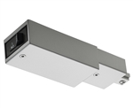 Juno Track Lighting TCLFM11SL (TCLFM11 SL) Trac-Master Current Limiting Feed, 1 Circuit, Mini End Feed, Silver Color