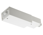 Juno Track Lighting TCLFM11WH (TCLFM11 WH) Trac-Master Current Limiting Feed, 1 Circuit, Mini End Feed, White Color