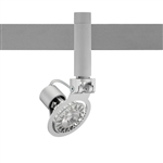 Juno Track Lighting TF1016SL (TF1016 SL) Flex 12 Low Voltage Gimbal MR16 LED-Compatible Lampholders, Silver Finish