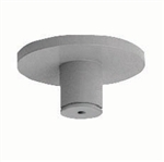 Juno Track Lighting TF93SL (TF93 SL) Flex 12 Mini Canopy for Threaded Rod, Silver Color