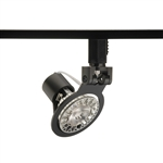 Juno Track Lighting TL1016BL (TL1016 BL) Trac 12 Miniature Low Voltage Gimbal MR16 LED-Compatible Lampholders, Black Finish