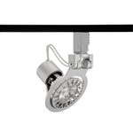 Juno Track Lighting TL1016SL (TL1016 SL) Trac 12 Miniature Low Voltage Gimbal MR16 LED-Compatible Lampholders, Silver Finish
