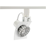 Juno Track Lighting TL1041WH (TL1041 WH) Trac 12 Miniature Low Voltage Lily MR16 LED-Compatible Lampholders, White Finish