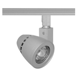 Juno Track Lighting TL261L-3HC-F-SL 13W Trac 12 Conix II LED Spotlight 12VAC, 3000K Color Temperature, 90 CRI, Flood Beam, Silver Finish