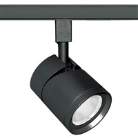 Juno Track Lighting TL381L-27HCWBL 13W 12V LED Cylinder Spotlight, 90 CRI, 2700K, Wide Flood, Black Finish