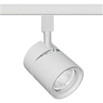 Juno Track Lighting TL381L-35KFWH 13W 12V LED Cylinder Spotlight, 80 CRI, 3500K, Flood, White Finish