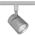 Juno Track Lighting TL381L-35KNSL 13W 12V LED Cylinder Spotlight, 80 CRI, 3500K, Narrow Flood, Silver Finish