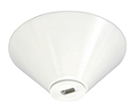 Juno Track Lighting TL541U-WH (TL541 LED WH) Conical Monopoint with Integral Transformer Compatible with LED and Halogen Fixtures, White Color