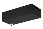 Juno Track Lighting TL567U-100-BL (TL567 LED 100W 120 12AC BL) 12V Surface Mount Transformer, Black Finish