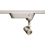 Juno Track Lighting TQJ114G2-35F-STN 12V Quick Jack LED Mini-Cylinder Spotlight 6W, 3500K, Flood, Satin Nickel Finish