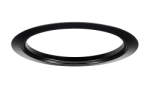 "Juno Recessed Lighting Accessory TR5-BL (TR5 BL) 5"" Black Trim Ring"