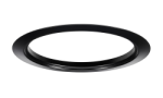 "Juno Recessed Lighting Accessory TR6-BL (TR6 BL) 6"" Black Trim Ring"