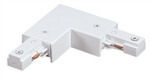 Juno Track Lighting TU24WH (TU24 WH) 2-Circuit Trac Master Adjustable Connector, White Color