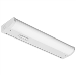 "Juno Undercabinet Lighting UCES 36IN SWW4 90CRI WH 36"" LED Undercabinet Fixture, 16.7 Watts, 1135 lumens, 3000K/3500K/4000K, White Finish"