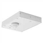 Juno Undercabinet Lighting ULH-DWMOCRS-WH (UDWMOC WH RS) Direct Wire Occupancy Sensor Module with Rocker Switch, White Finish