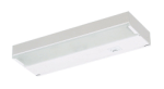 "Juno Undercabinet Lighting ULX109-WH 9"" 20W 12V Low Voltage 1-Lamp Xenon Bi-Pin Lamp, Economy Xenon Undercabinet Fixture, White Finish"
