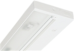 "Juno Undercabinet Lighting UPF12-NS-WH 12"" 8.4W T5 Lamp, 3000K Pro Fluorescent Undercabinet Fixture, No Rocker Switch, White Finish"