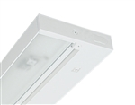 "Juno Undercabinet Lighting UPF12-WH 12"" 8W T5 Lamp, 3000K Pro Fluorescent Undercabinet Fixture, White Finish"