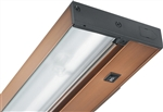 "Juno Undercabinet Lighting UPF22-OC-BZ-CP6 22"" 15.3W T5 Lamp, 3000K Pro Fluorescent Undercabinet Fixture, Occupancy Sensor with Switch, includes Portable 6"" Cord and Plug, Bronze Finish"