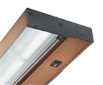 "Juno Undercabinet Lighting UPL22-BZ 22"" 6-Lamp Pro LED Undercabinet Fixture, 7.4 Watts, 377 Lumens, Bronze Finish"