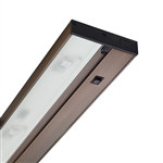 "Juno Under Cabinet Lighting LED UPLED14 30K 90CRI BZ 14"" 4-Lamp Pro Dimmable Fixture, 5.6 Watts, 299 Lumens, Bronze Finish"