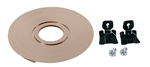 Juno USTL-REC-BZ Solo-Task Surface to Recessed Mount Conversion Kit, Brushed Bronze Finish
