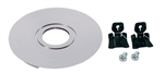 Juno USTL-REC-SN Solo-Task Surface to Recessed Mount Conversion Kit, Satin Nickel Finish