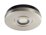 Juno Undercabinet Lighting USTL1-3K-SN Solo-Task LED, Surface Mount, 3000K Color Temperature, Satin Nickel Finish