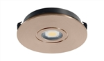 Juno Undercabinet Lighting USTLR1-3K-BZ Solo-Task LED, Recessed Mount, 3000K Color Temperature, Bronze Finish