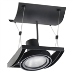 Juno Track Lighting XT30101BL AVIO One Lamp - Line Voltage 35-75W PAR30 Unit, Black Color