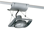 Juno Track Lighting XT30101SL AVIO One Lamp - Line Voltage 35-75W PAR30 Unit, Silver Color