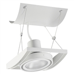 Juno Track Lighting XT30101WH AVIO One Lamp - Line Voltage 35-75W PAR30 Unit, White Color