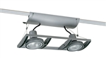 Juno Track Lighting XT30201SL AVIO Two Lamp - Line Voltage 35-75W PAR30 Unit, Silver Color