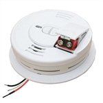 Kidde 1276A 120V AC/DC Wire-in ionization Smoke Alarm with 9V Alkaline Battery Backup