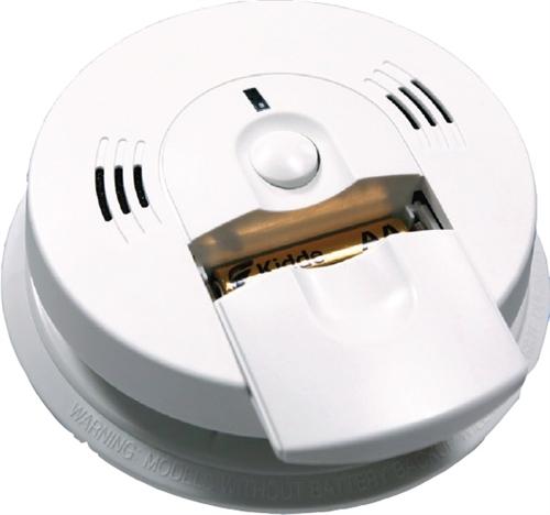 Kidde 21006974 6pcs Bulk Battery Operated Combination Carbon Monoxide Smoke Alarm