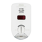 Kidde KN-COP-DP-10YH (900-0284) Worry-Free Hallway Plug-in Carbon Monoxide Alarm with Sealed Lithium Battery Backup, Digital Display, and Escape/Night Light