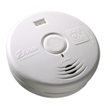 Kidde P3010H (21010069) Worry Free 10 Year Sealed Lithium Battery Operated Smoke Alarm for the Hallway with Bright LEDs provide lighted escape