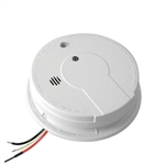 Kidde i12040A (21006378) 120V AC/DC Wire-In Ionization Smoke Alarm with 9V Battery Back Up - Contractor Packaging